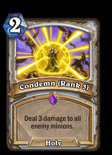 Condemn Rank 3