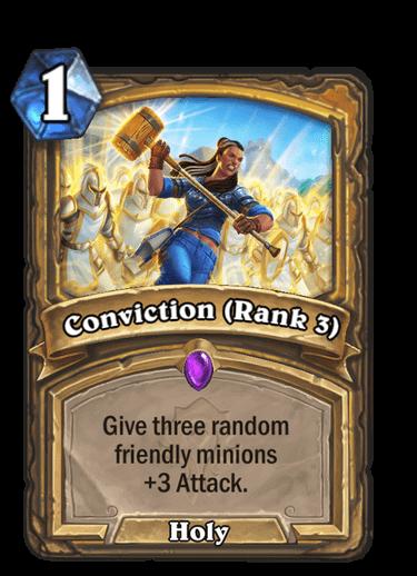 Conviction Rank 3