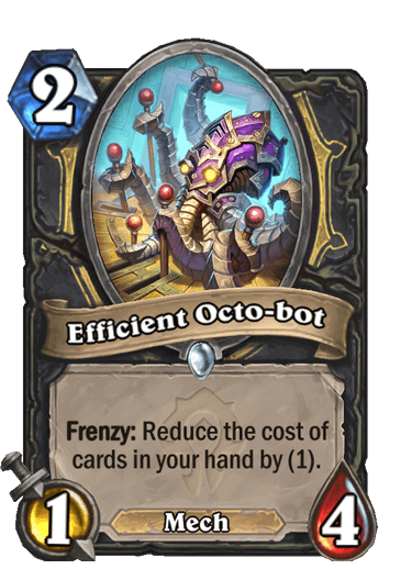 Efficitient Octo-bot
