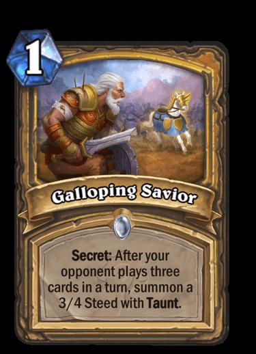 Galloping Savior