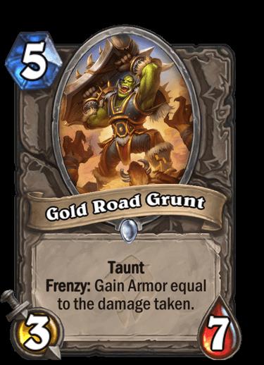 Gold Road Grunt