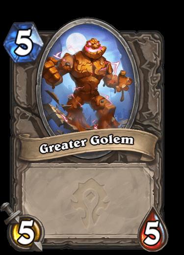 Greater Golem