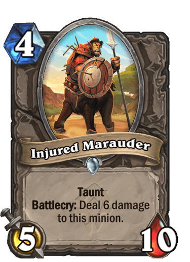 Injured Marauder
