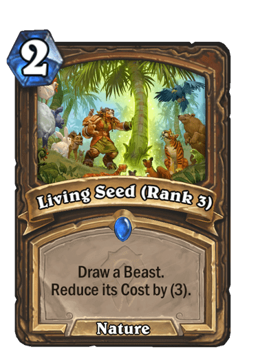 Living Seed Rank 3