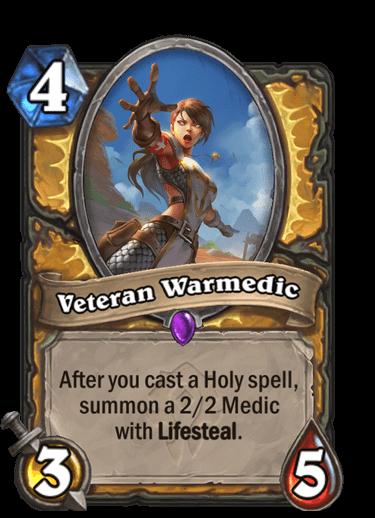 Veteran Warmedic
