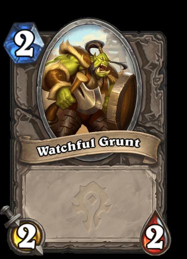 Watchful Grunt