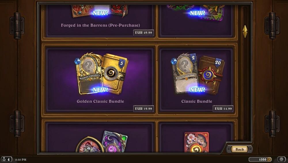 Új Classic csomagok a Shopban limitált ideig