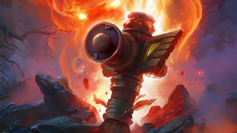 Flametongue Totem artwork