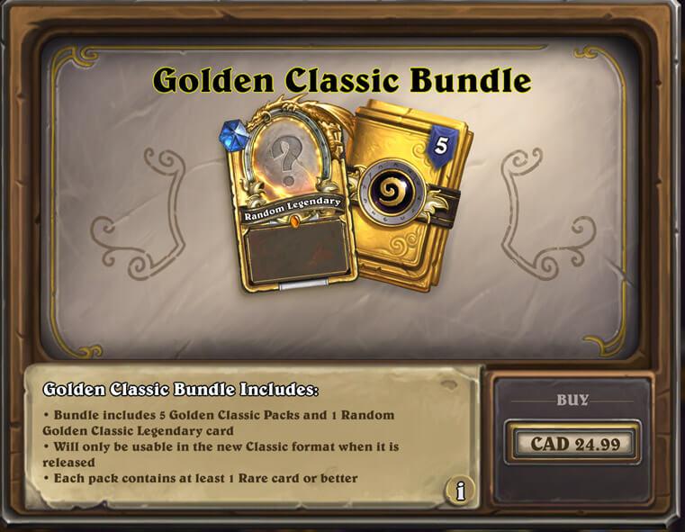 Golden Classic Bundle