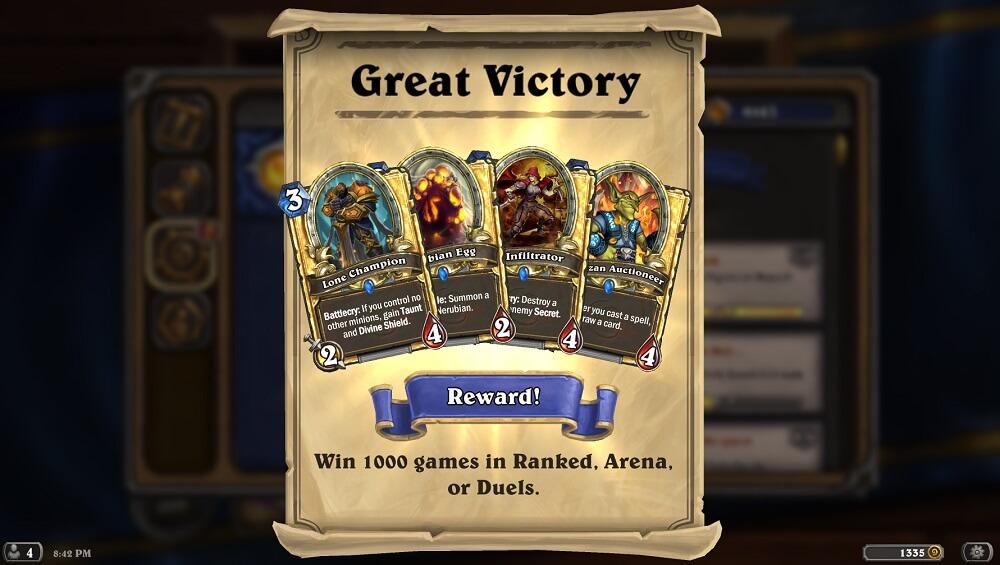 Great Victory achievement