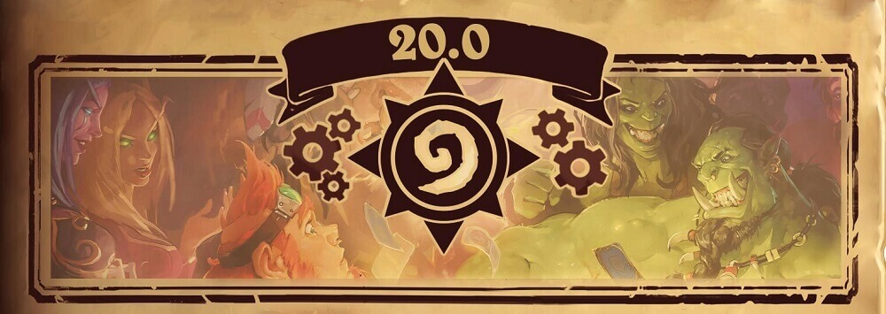 Hearthstone Patch 20.0