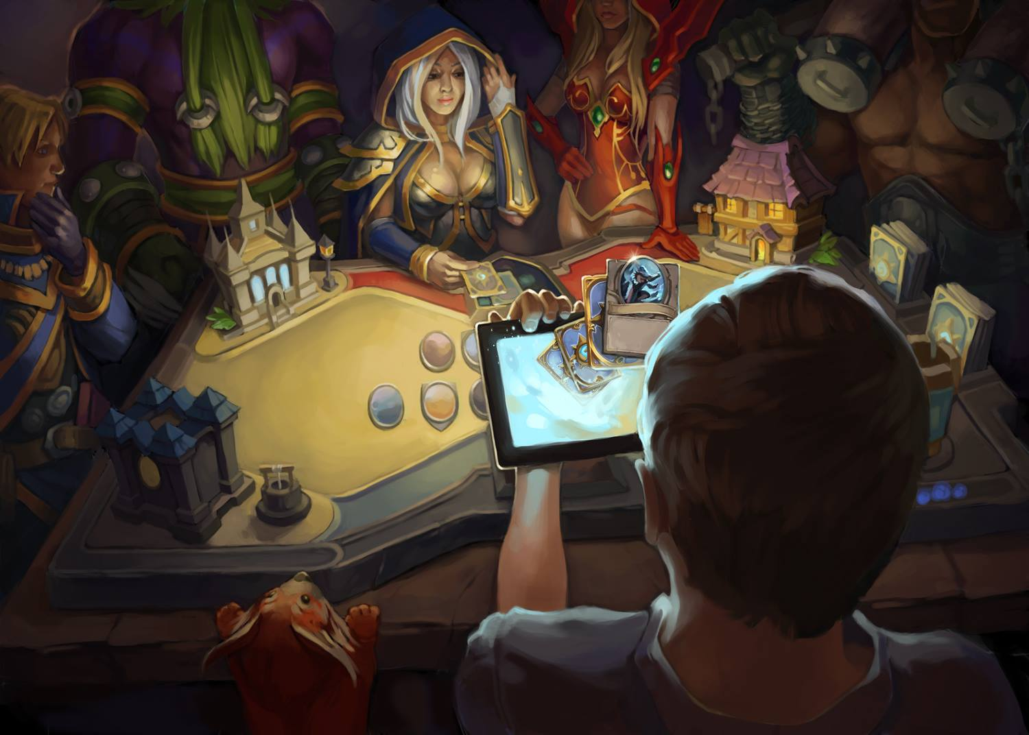 ipad hearthstone inn jaina