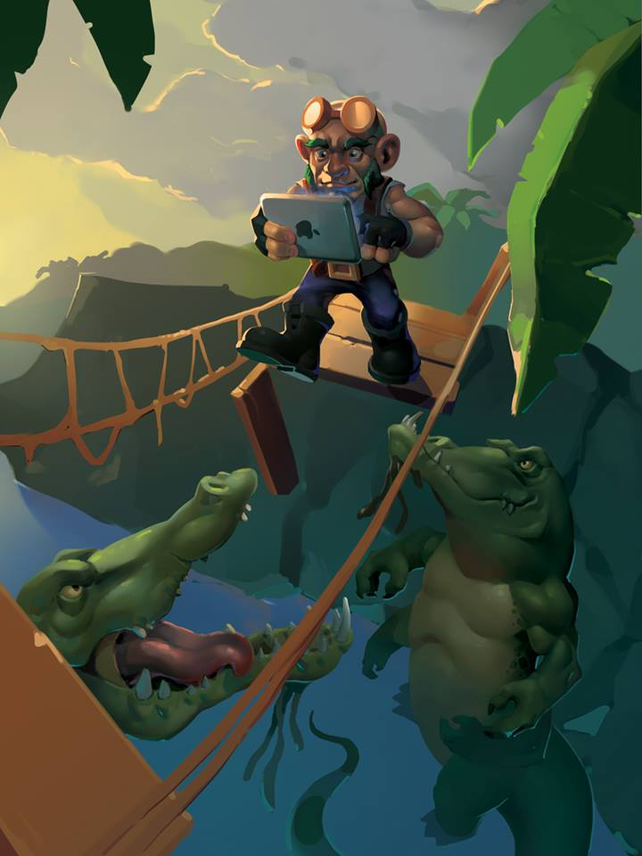 gnome ipad hearthstone