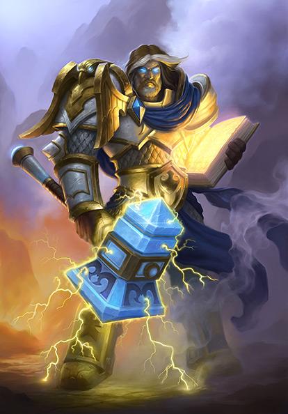 paladin hearthstone Uther Lightbringer hero