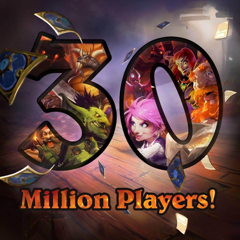 Hearthstone: Több, mint 30 millió játékos