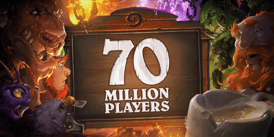 70 millió Hearthstone játékos és három ingyen kártya csomag