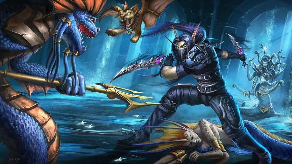 rogue artwork World of Warcraft - Yenin