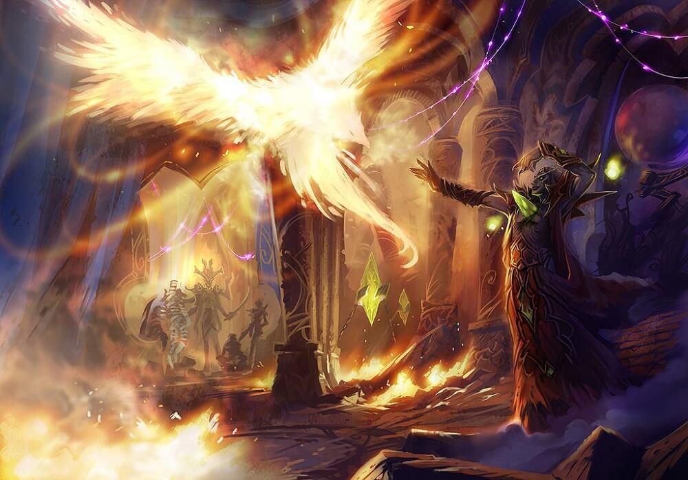 Phoenix és Kael'Thas