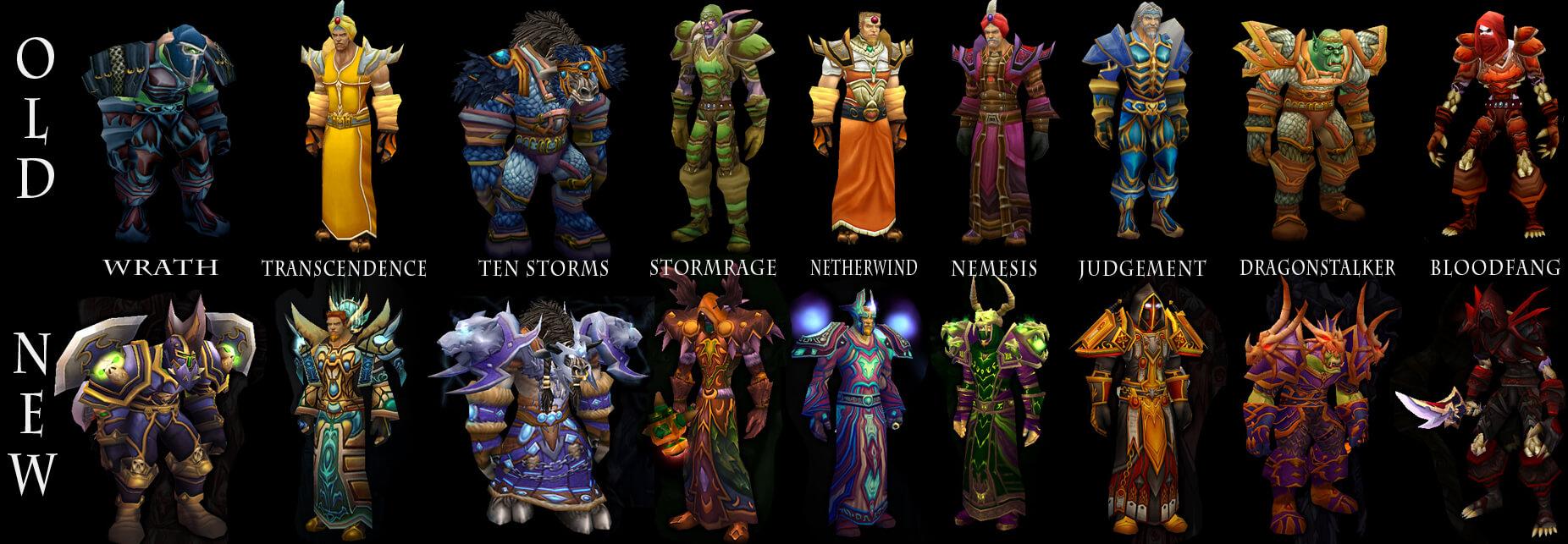 Tier 2 szettek - World of Warcraft