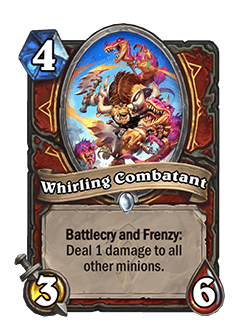 Whirling Combatant