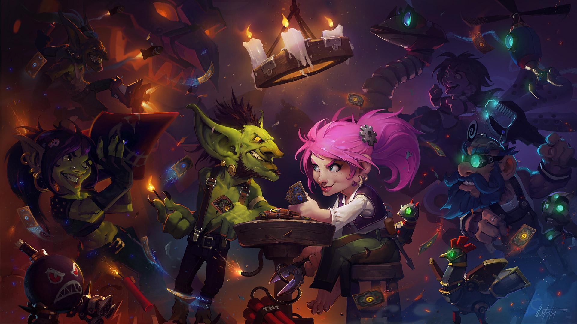 hearthstone wallapper, goblins vs gnomes háttérkép