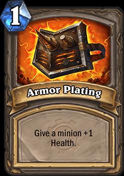 armor plating hearthstone kártya