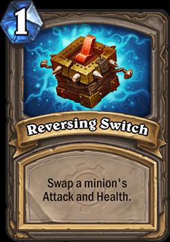 reversing switch hearthstone kártya