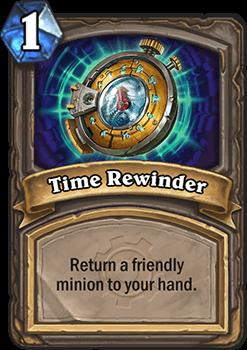 time rewinder hearthstone kártya