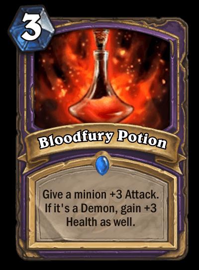 Bloodfury Potion