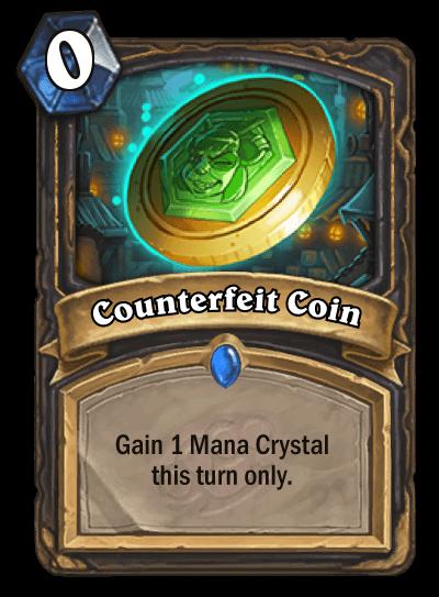 Counterfeit Coin