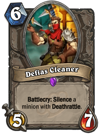 Defias Cleaner