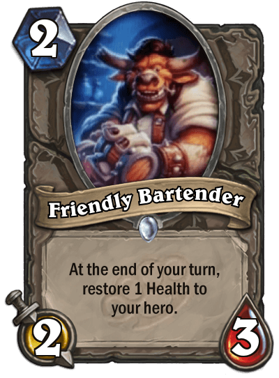 Friendly Bartender