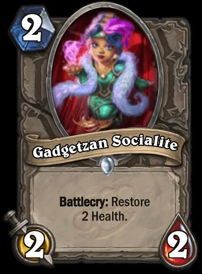 Gadgetzan Socialite