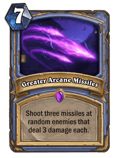 Greater Arcane Missiles
