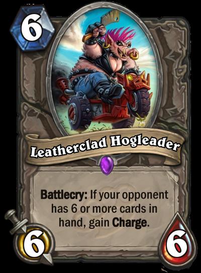 Leatherclad Hogleader