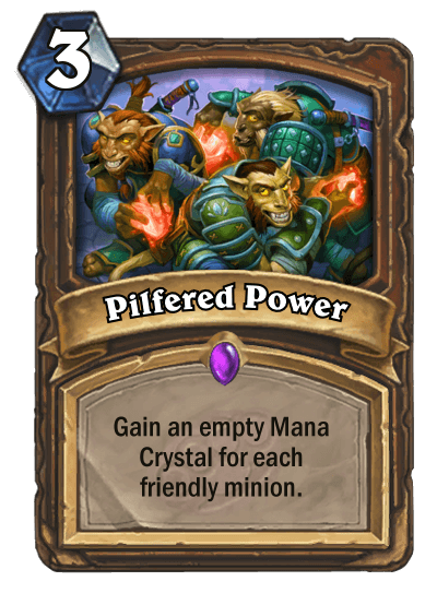 Pilfered Power