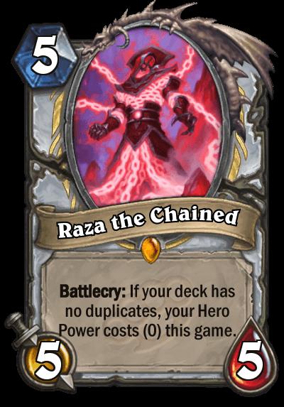 Raza the Chained