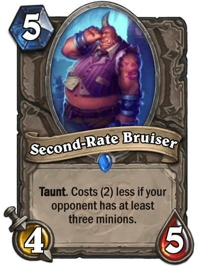 Second Rate Bruiser