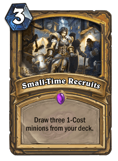 Small Time Recruits