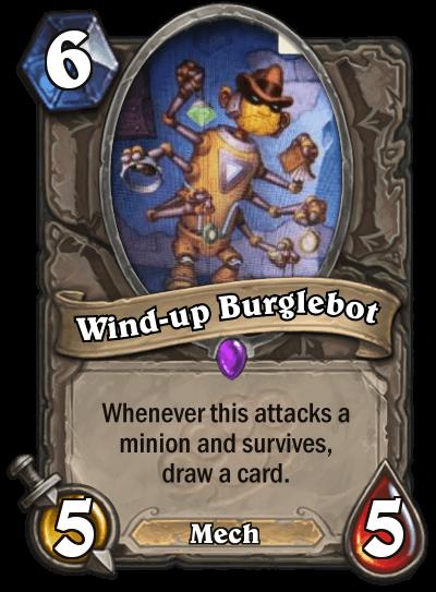 Wind Up Burglebot