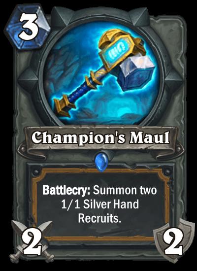 Champion Maul