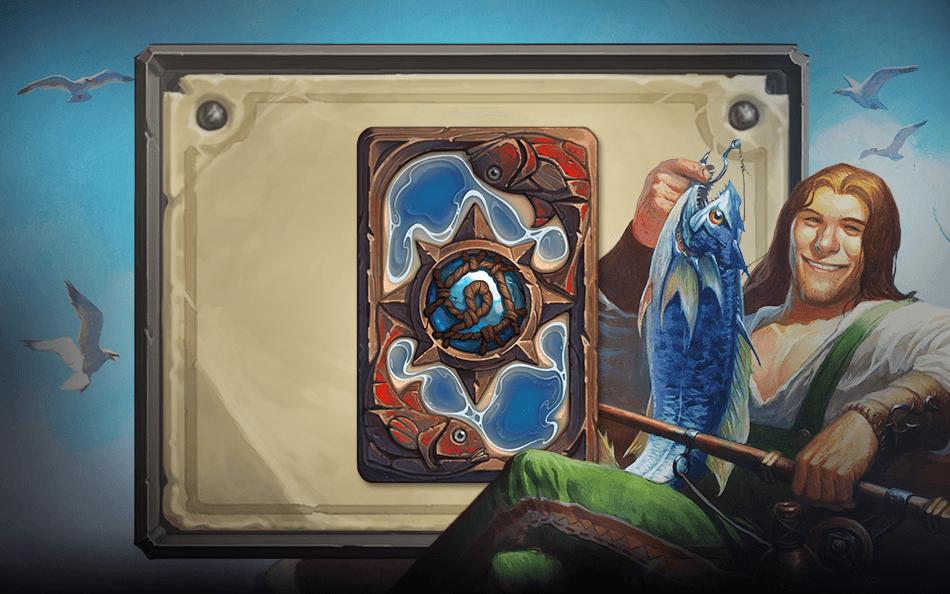 Gone Fishing kártya hátlap