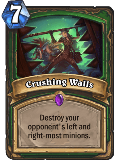 Crushing Walls