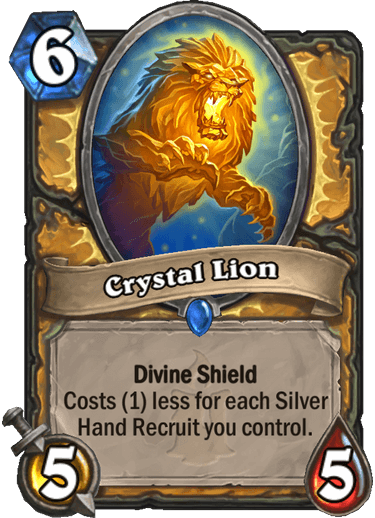 Crystal Lion