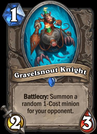 Gravelsnout Knight