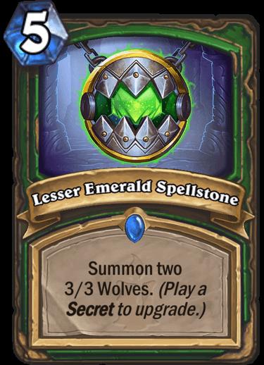 Lesser Emerald Spellstone