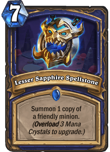 Lesser Sapphire Spellstone