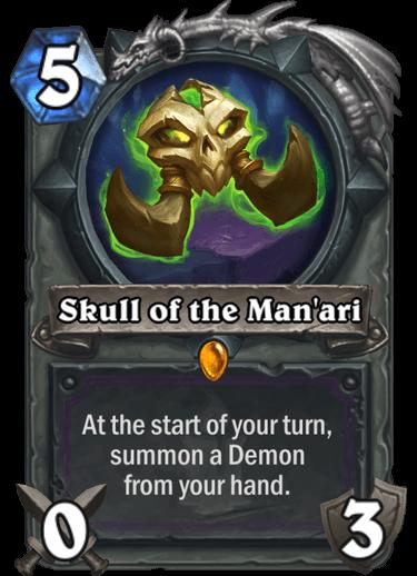 Skull of the Manari