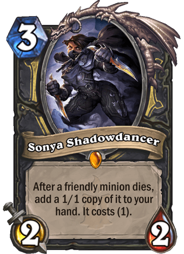Sonya Shadowdancer