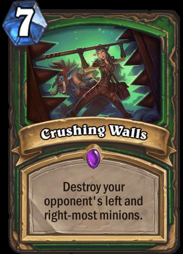 Crushing Walls
